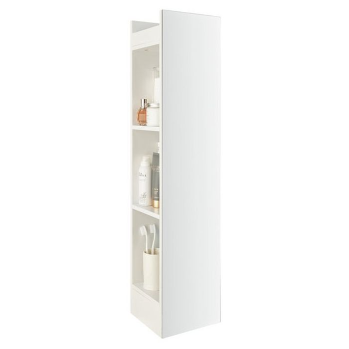 Argos Home Prime Open Sided Mirrored Cabinet