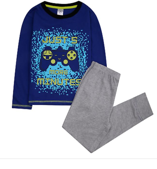 Just 5 More Minutes Gaming Pyjamas Free Delivery