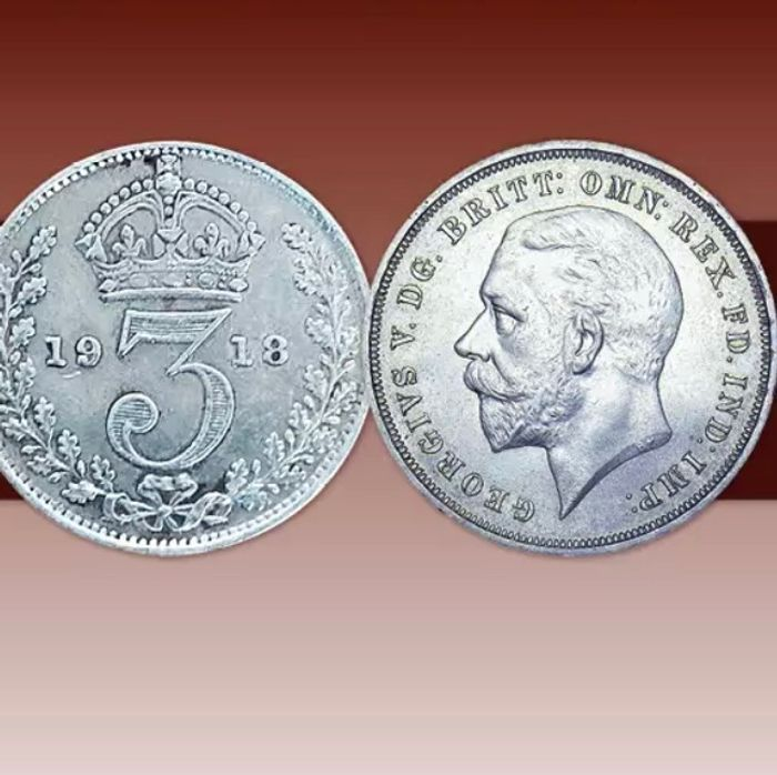 FREE Limited Edition King George v Silver Coins