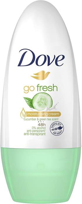 Dove Go Fresh Cucumber and Green Tea Anti-Perspirant Deodorant Roll-On, 50ml