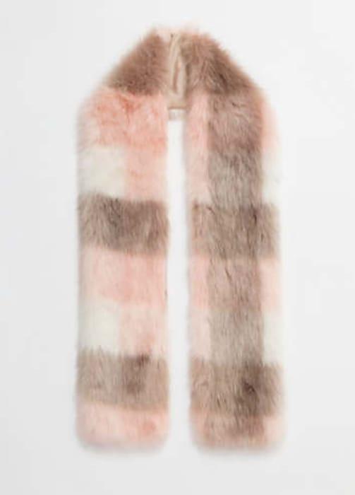 Casia Faux Fur Scarf by Pia Rossini