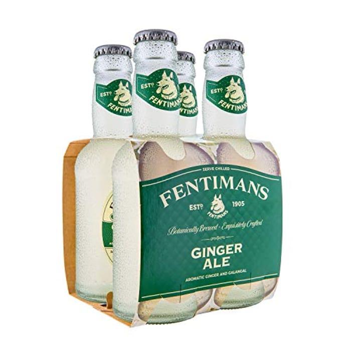 Fentimans Ginger Ale, 4 X 200ml Bottles