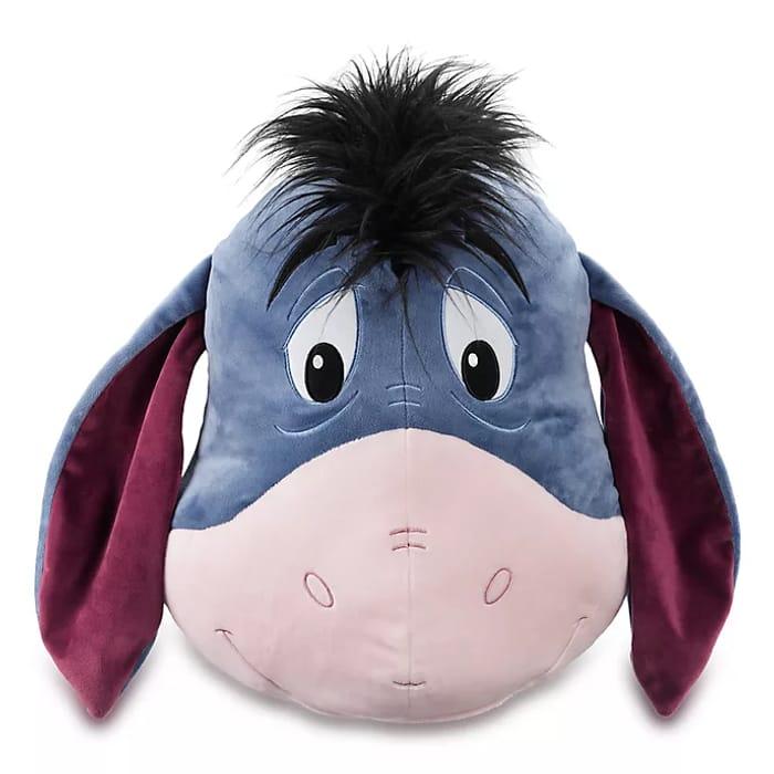 Disney Store Eeyore Big Face Cushion