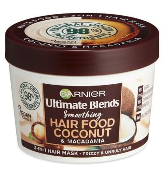 Garnier Ultimate Blends Hair Food Coconut Oil 3-in-1 Hair Mask Treatment 390ml