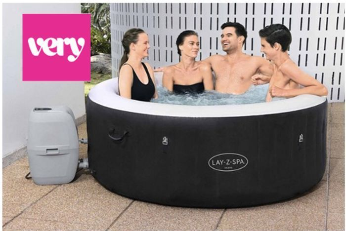 Cheap Lay-Z-Spa Miami AirJet Hot Tub - PRE-ORDER FOR JUNE at Very