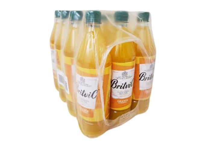 Box of Britvic Orange Cordial - 12 X 1L (Only 89p Each Bottle)