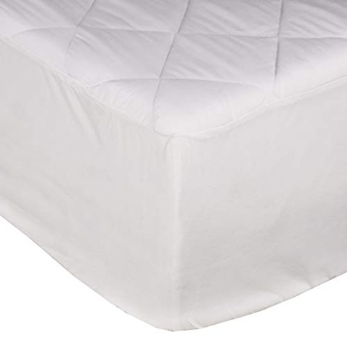 Sleepdown Quilted Fitted Mattress Protector - 150*200 Cm