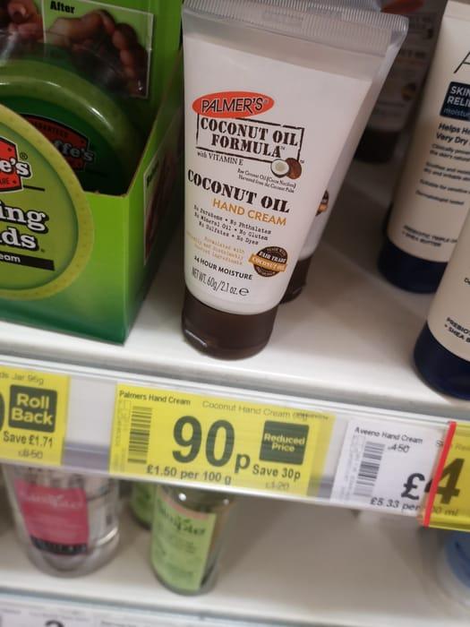 Palmer's Coconut Oil Hand Cream 60g