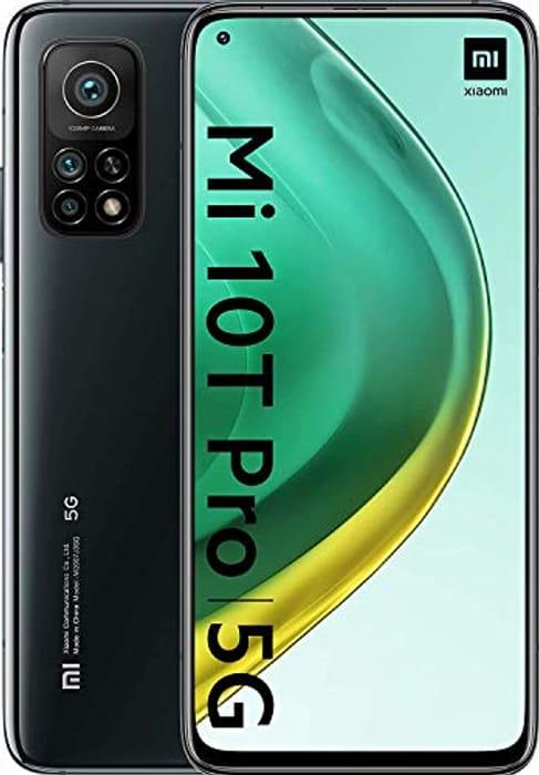 *SAVE £160* Xiaomi Mi 10T Pro - Smartphone 8+256GB, 6,67 FHD+ DotDisplay