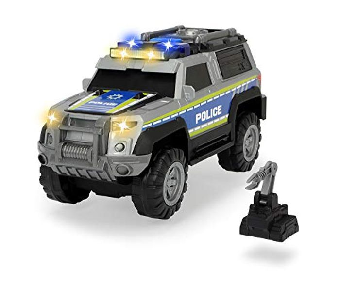 Dickie Toys 203306003 Police SUV Toy Car with Various Functions