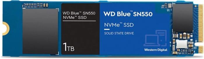 Western Digital Blue SN550 1TB M.2-2280 SSD £82.96 at CCL Online