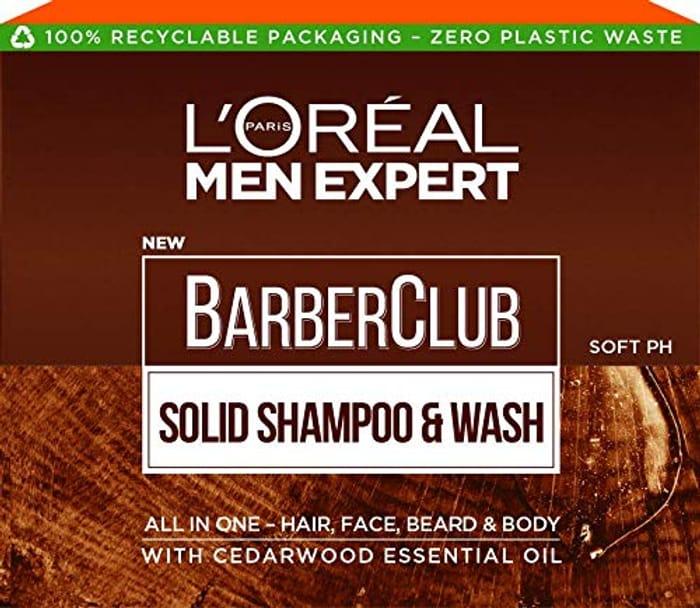 L'Oreal Paris Men Expert Barber Club Solid Shampoo