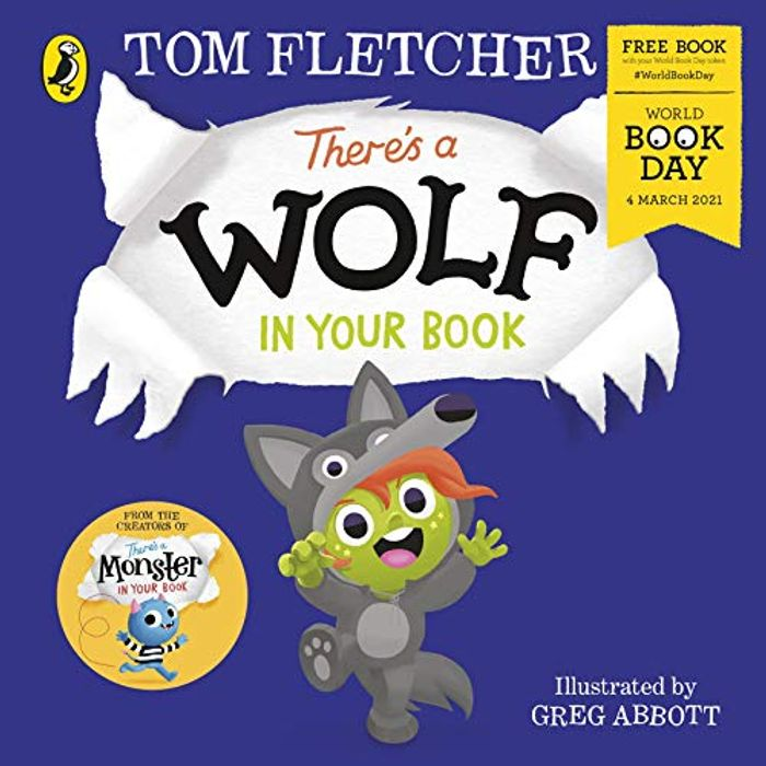 There's a Wolf in Your Book: World Book Day 2021 Paperback £1