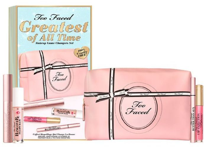 Too Faced Greatest of All Time Makeup Game Changers Set worth £80