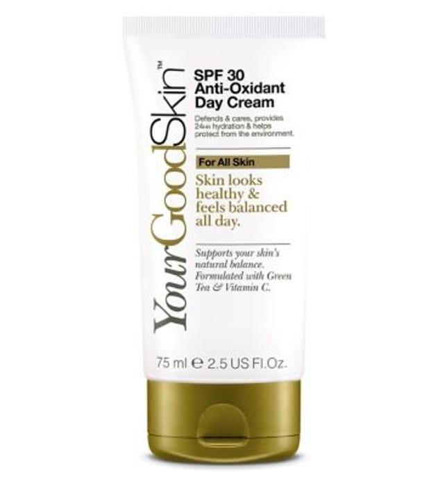 YourGoodSkin SPF 30 Anti-Oxidant Day Cream - with Vitamins E&C 75ml
