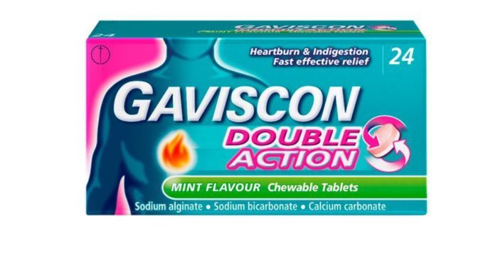 Now £3.49 save 30% TODAY & MEMBERS ONLY on Gaviscon Double Action Mint Tablets