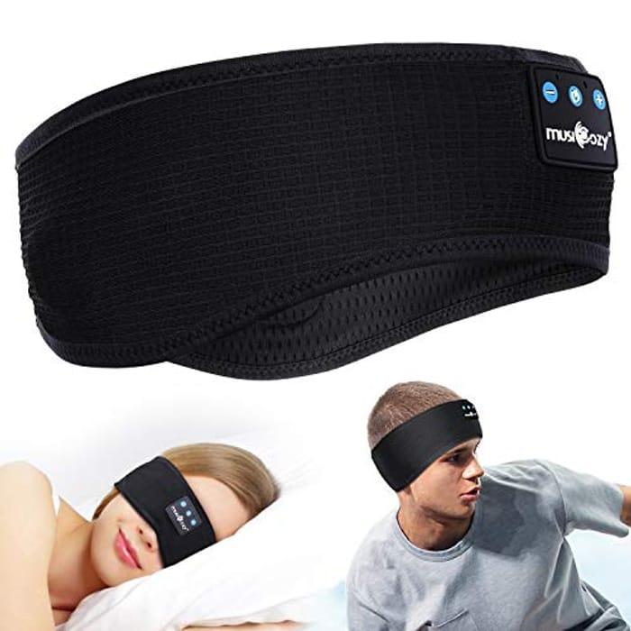 Bluetooth Sport/Sleep Headband Wireless Headphones