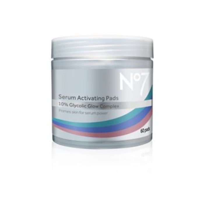 1/2 Price on No7 Serum Activating Pads & 3For2