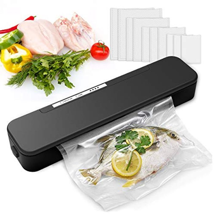 Nozama Food Automatic Food Vacuum Sealer - Only £18.49!