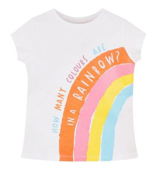 Mini Club Rainbow Tee Now down to £1.50 at Boots