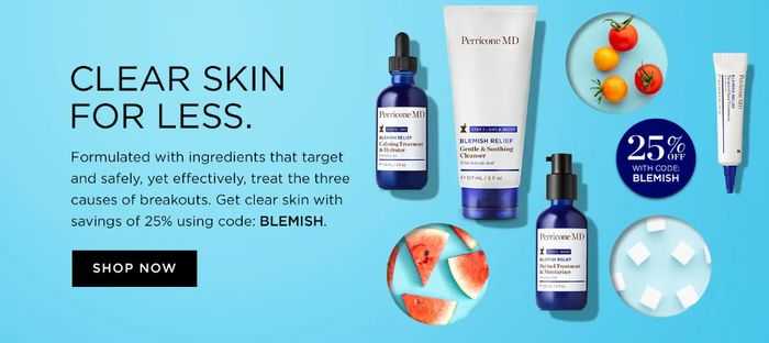 5% off Orders at Perricone MD