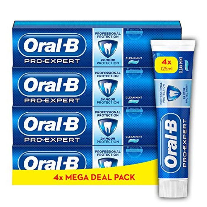 Cheap Oral-B Pro-Expert Professional Protection Toothpaste - Only £11.67!