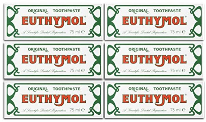 Special Offer! Euthymol Original Toothpaste 75ml (Case of 6)