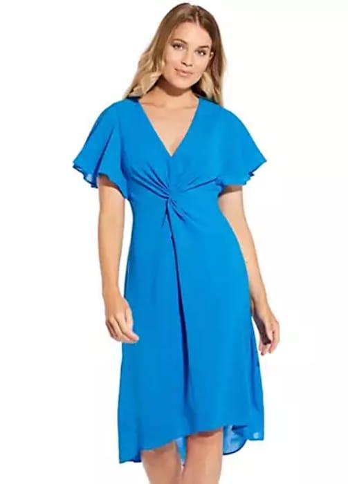 Adrianna Papelltwist Crepe Dress