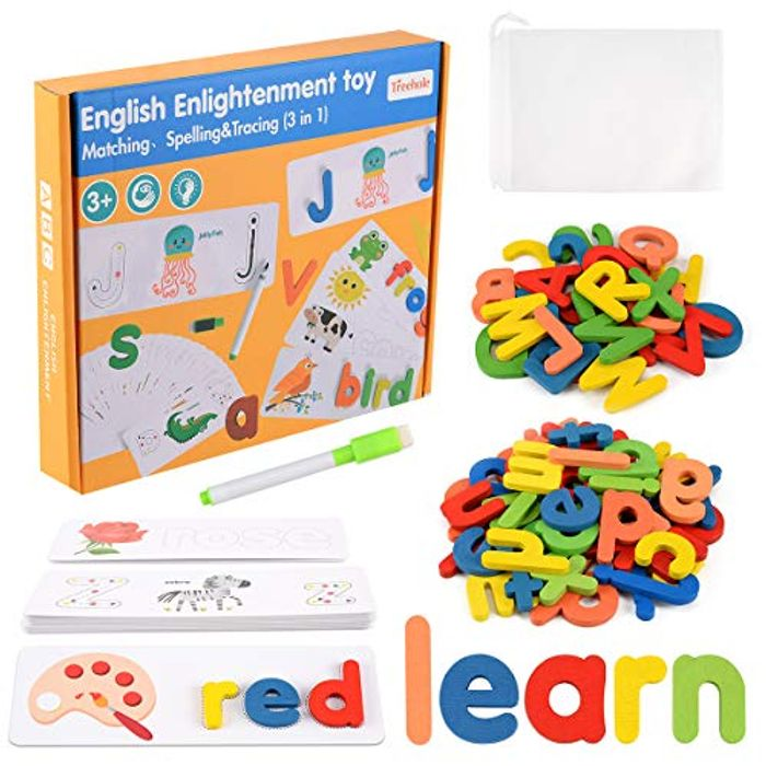 Alphabet Puzzle Spelling/writing Exercise Game - Only £5.49!