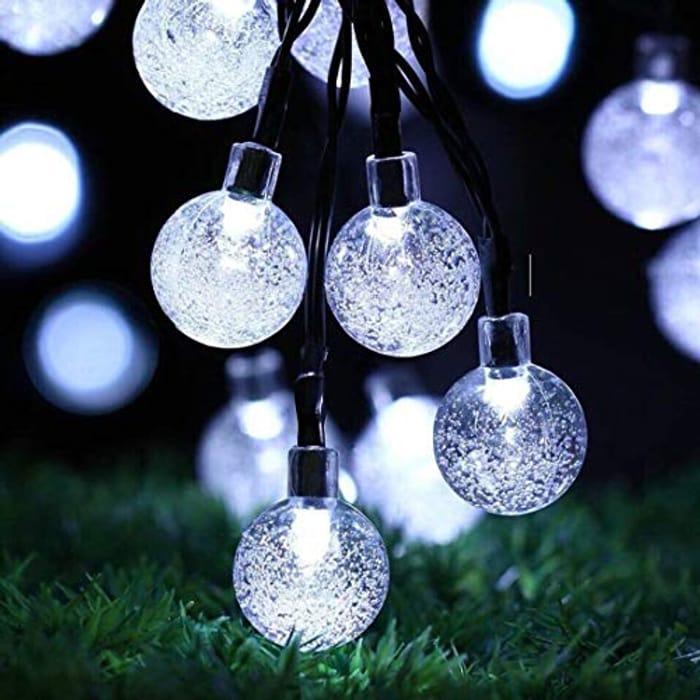 LIGHTNING DEAL - Outdoor Waterproof 24Ft 50 LED Garden Solar String Lights