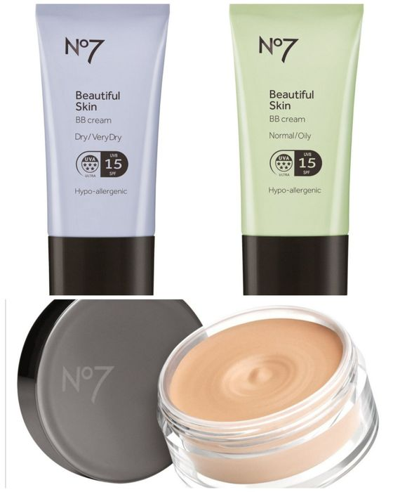 3for2 & 1/2 Price No7 Beautiful BB Cream Normal/Oily/Dry&Matte Mousse Foundation