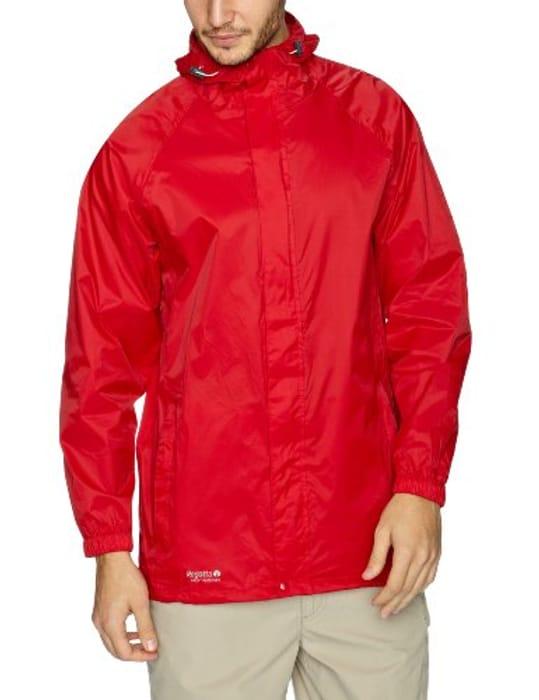 Regatta Packaway Men's Leisurewear Jacket Red