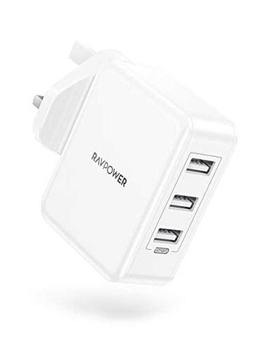 RAVPower 30W USB Plug Charger - Only £7.64!
