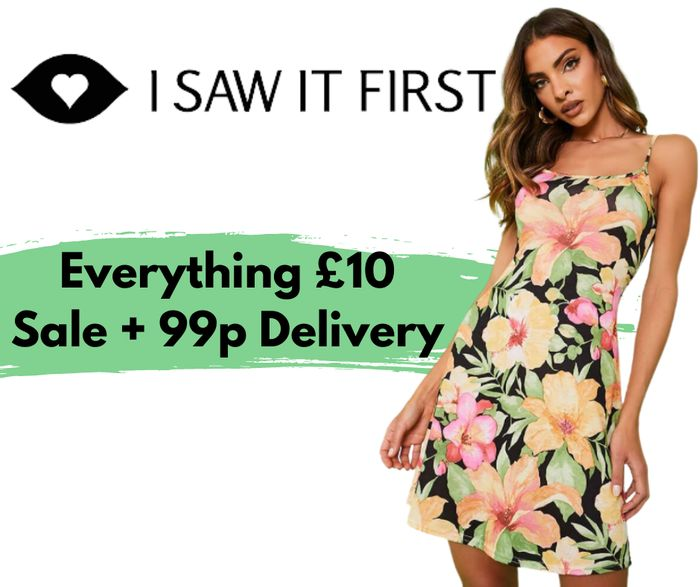 ISAWITFIRST Everything £10 Sale - 800+ Items Included!