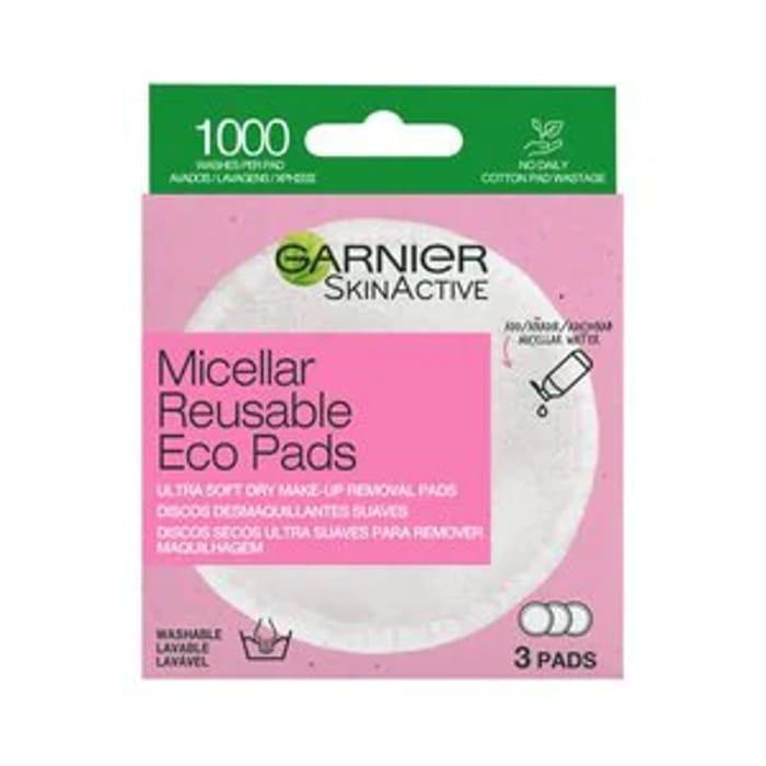 Garnier Micellar Reusable Make-up Remover Micro Fibre Pads