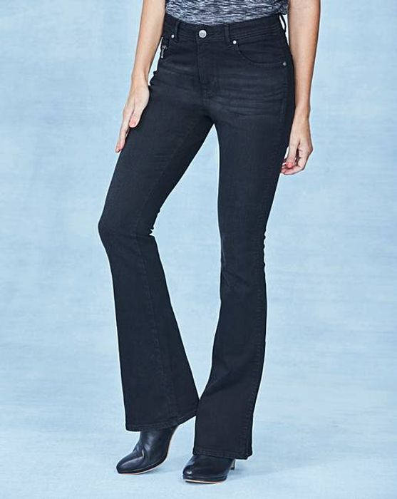 Eve Bootcut Jeans Long Length (Colour - Washed Black, Size 30 & 32)