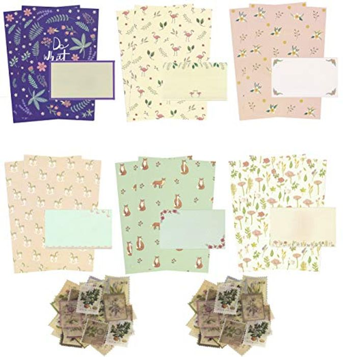 Letter Writing Stationery Paper Cute Lovely Letter Set - Only £9.09!