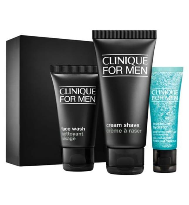 Clinique Men Starter Daily Intense Hydration/Oil Control/Age repair
