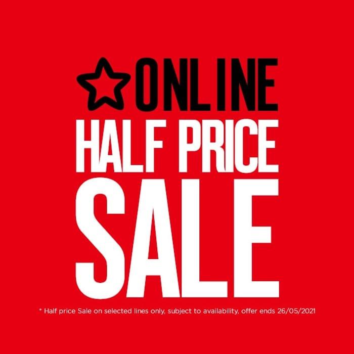 SUPERDRUG SALE: 1/2 Price Make Up, Gifting, Beauty, £10 & Under - Online Only