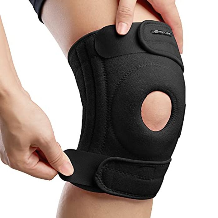 Prime Deal! Knee Support with Open-Patella Design