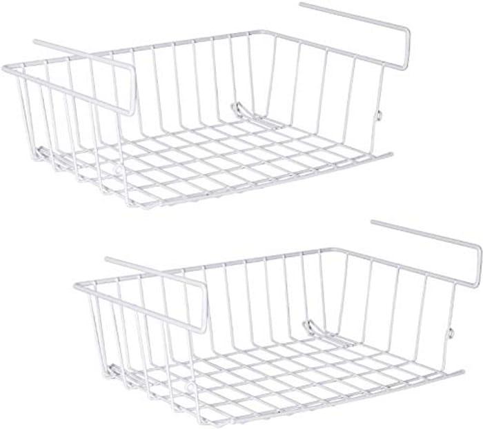 2 Pack under Shelf Storage Basket