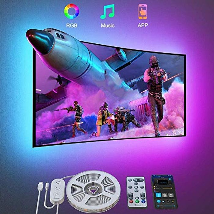 3M Bluetooth Color Changing RGB TV LED Backlight with APP Control