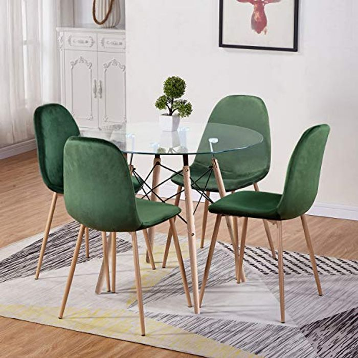 GOLDFAN Dining Table and Chair Set