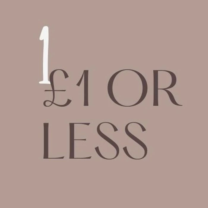 3 For 2 Site Wide! New £1 & Under Lines Added