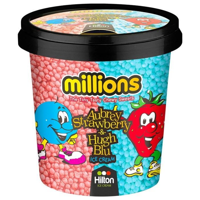 Millions Aubrey Strawberry & Hugh Blu 1L