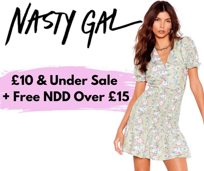 Nasty Gal £10 & Under Sale + 30% off Everything Else!