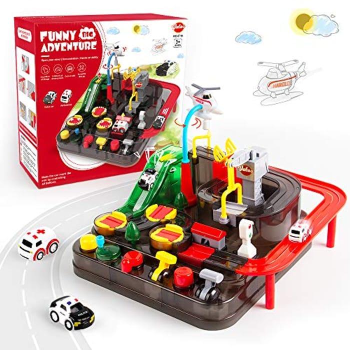 VATOS Car Race Track Toy