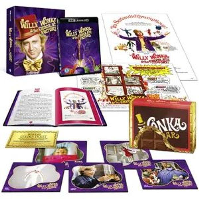 Willy Wonka Golden Ticket and Ultimate 4K Collectors Edition Bundle - £56.99