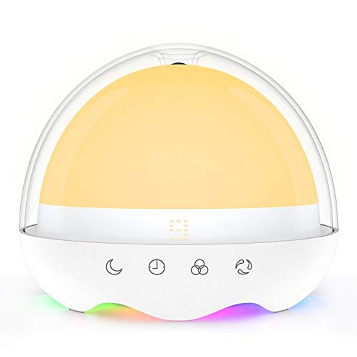 LED Sensor Lamp 5W with USB Fast Charging + Timer & RGB Ambient Light