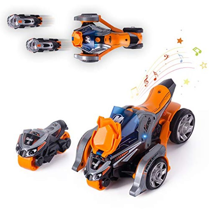 Thedttoy Pull Back Vehicles 2 in 1 Pull Back Cars Toys - Only £12.49!
